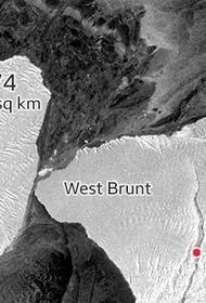 Айсберг A74 площадью почти с Санкт-Петербург столкнулся с побережьем Антарктиды в районе шельфового ледника Бранта