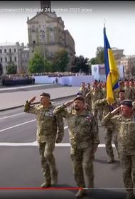 Президент Зеленский впервые принимал военный парад