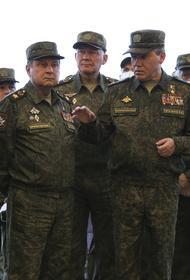 Герасимов проверил ход учений по обеспечению боя в рамках подготовки к СКШУ «Запад-21»