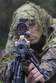 Украинская армия опубликовала видео уничтожения «российского снайпера» в Донбассе