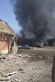 Замминистра ДНР Безсонов выложил фото с последствиями ответного удара военных республики по расположению бригады ВСУ под Донецком