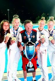 Южноуральские ватерполистками стали чемпионками Европы по водному поло