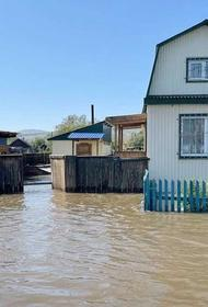 В Бурятии из-за подъёма уровня Селенги затопило несколько населённых пунктов