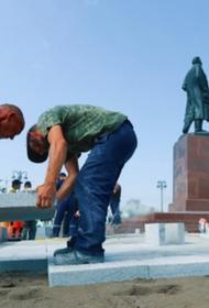 Строители сорвали сдачу к 1 сентября отремонтированной центральной площади Симферополя