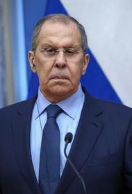Лавров назвал позитивным высказывание Байдена о невмешательстве в дела других стран