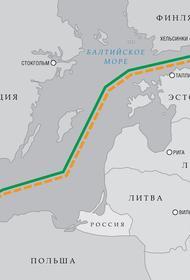 На магистральном газопроводе «Северный поток- 2» осталось уложить менее 6 км трубы