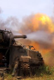 Самоходная артиллерия Амурского общевойскового объединения уничтожила цели условного противника, маневрируя огнём и колёсами
