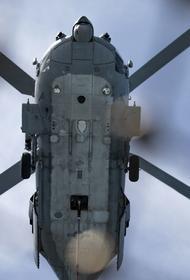Крушение вертолета ВМС США в Калифорнии унесло жизни пятерых членов экипажа