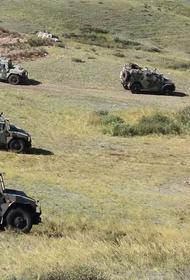 В Туве закончились совместные учения горных стрелков России и Казахстана