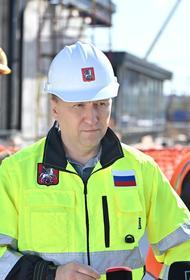 Андрей Бочкарёв: Строительная готовность станции «Улица Генерала Тюленева» составляет 27%