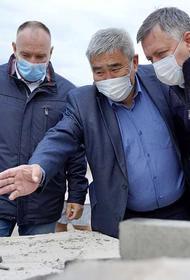 Иркутский губернатор Игорь Кобзев проинспектировал стройки Усть-Удинского района