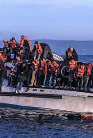 Британцы будут разворачивать суда с беженцами к берегам Франции