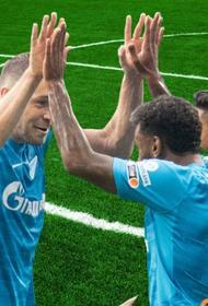 «Зенит» показал результативную игру с «Ахматом» 3:1
