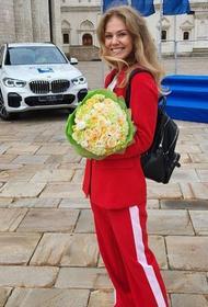 Челябинская спортсменка Татьяна Минина уехала из Кремля на новеньком BMW