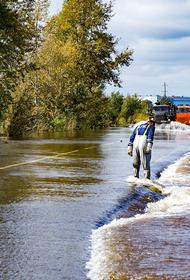 Паводок начал покидать Комсомольск-на-Амуре