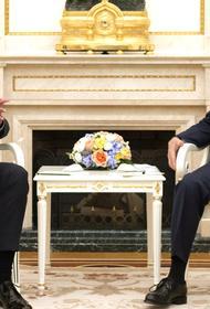 Путин провёл переговоры с президентом Сирии Башаром Асадом в Кремле