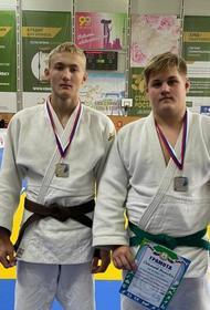 Юные дзюдоисты из Челябинской области завоевали две серебряных медали