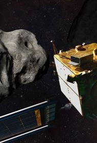 NASA отправляет космический корабль чтобы, сбить с орбиты астероид
