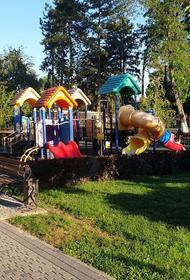 В Крымском районе за три года построили пять парков
