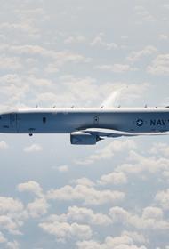 Издание Avia.pro: американский противолодочный Boeing P-8A Poseidon «провел очень странную операцию рядом с границами Крыма»
