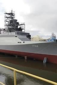 Новый МРК «Град» был спущен на воду в Зеленодольске