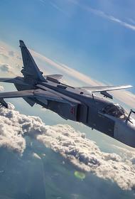 Портал Avia.pro: российские Су-24 нанесли десятки ударов по поддерживаемым Анкарой сирийским боевикам в районе границы с Турцией