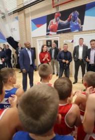 Юным коркинцам организовали встречу со спортивными звёздами