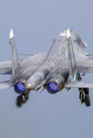 NetEasе: российский истребитель Су-30 «отпугнул» американские F-35 недалеко от Сирии