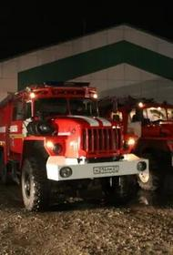 В Хабаровске из горящего барака эвакуировали более 15 человек