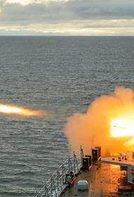 Отряд кораблей и морпехи СФ проводят учения на Новосибирских островах