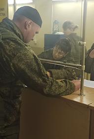 В ЮВО начались учения с контрактниками из армейского резерва