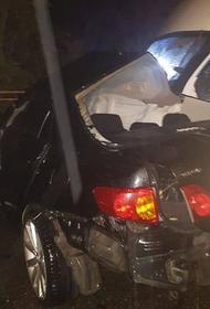 В Железноводске произошло ДТП с участием такси и микроавтобуса