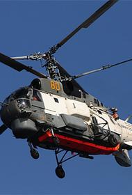 Вертолет Ка-27 в установленный срок не вышел на связь на Камчатке