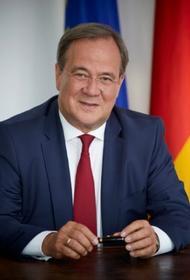 Кандидат в канцлеры Германии от партии Меркель Армин Лашет пообещал поддержать «Северный поток — 2»
