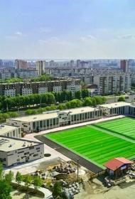 В Челябинске открывается современная футбольная площадка