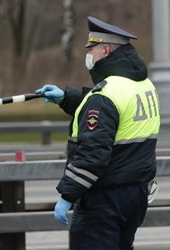 На Садовом кольце в Москве загорелась иномарка