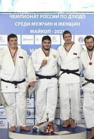 Четыре награды привезли южноуральцы с чемпионата России по дзюдо
