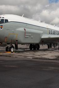 «ПолитРоссия»: истребитель Су-27 «сорвал шпионские планы» разведывательного самолета США над Черным морем