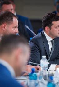 Зеленский объяснил инициативу отставки спикера Рады разногласиями Разумкова с партией по ряду законов