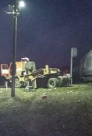 На переезде под Пензой столкнулись грузовой автомобиль и пассажирский поезд