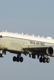 Британский самолёт-разведчик четыре часа кружил у российских границ