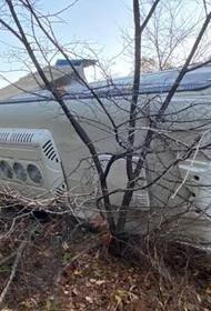 В Хабаровском крае пассажирский автобус попал в ДТП, есть пострадавшие