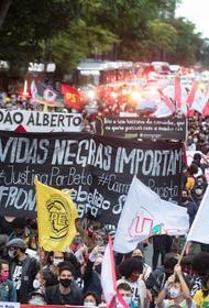 В Бразилии прошли массовые акции протеста против президента страны