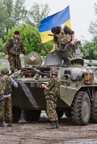 Появилось видео высокоточных ударов армии Украины по военным республик Донбасса