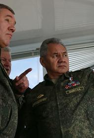 Шойгу: Войска России и Белоруссии гарантируют региональную безопасность