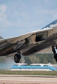 Sohu: российский истребитель Су-57 «одним махом обгонит» американские F-22 и F-35 после оснащения новой гиперзвуковой ракетой
