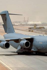 В Киев транспортной авиацией доставлен груз военного назначения из США