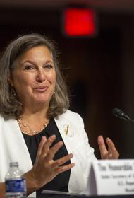 Замгоссекретаря США Виктория Нуланд назвала главную тему переговоров с российскими политиками в Москве