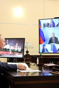 Владимир Путин признался, что покашливает из-за активного движения в прохладную погоду