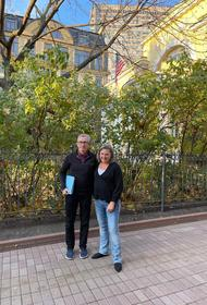 В американском посольстве показали Викторию Нуланд, наслаждающуюся бабьим летом в Москве